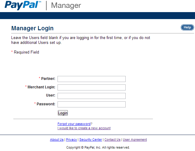 Configure PayPal Advanced