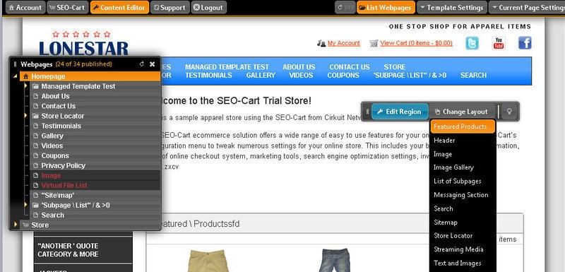 Web Content Management Software For Ecommerce Websites Cirkuit Com