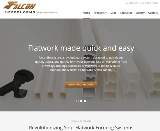 Falcon SpeedformsVisit Website